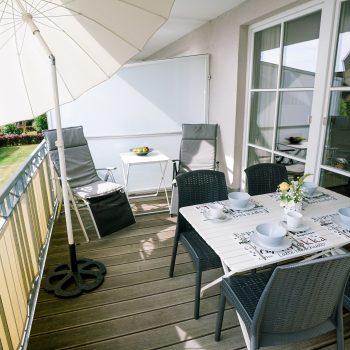 Ferienwohnung Meeresglück - SW Balkon