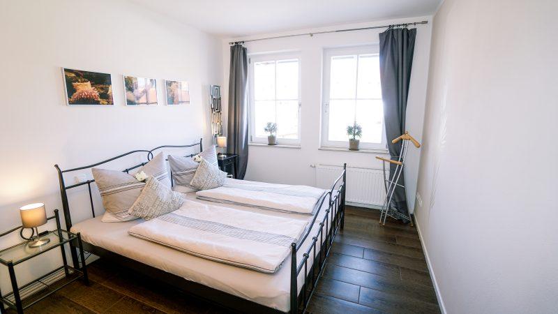 Ferienwohnung Meeresglück - Schlafzimmer