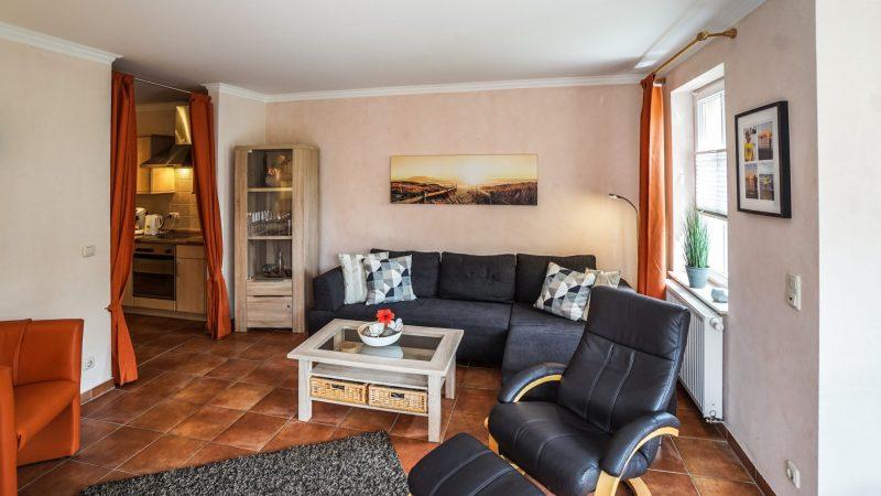 Ferienwohnung Leuchtturm - Wohnzimmer