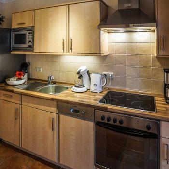 Ferienwohnung Leuchtturm - Küche