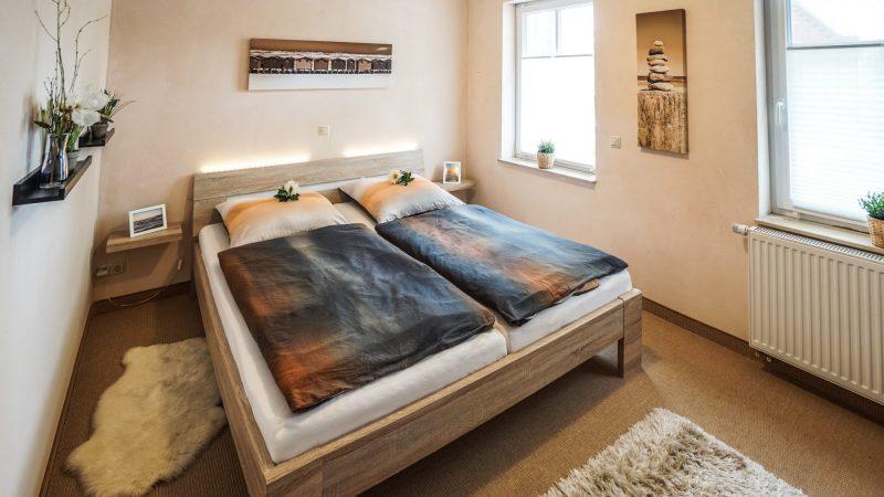 Ferienwohnung Leuchtturm - Schlafzimmer