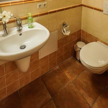 Ferienwohnung Leuchtturm - WC